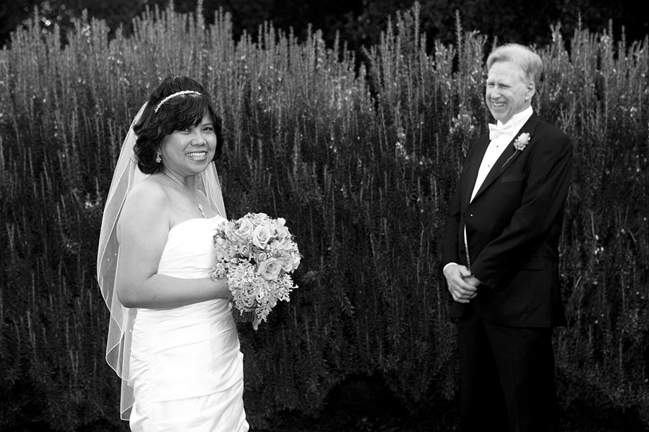 Portrait Focusing on Bride