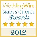 Wedding Wire Bride's Choice Award 2012