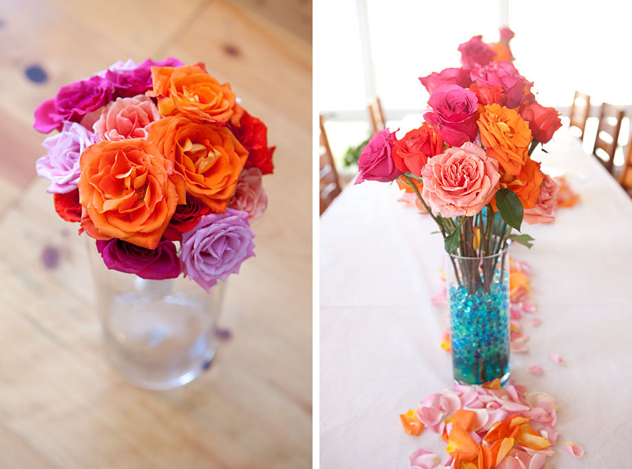 Bouquet and Centerpiece