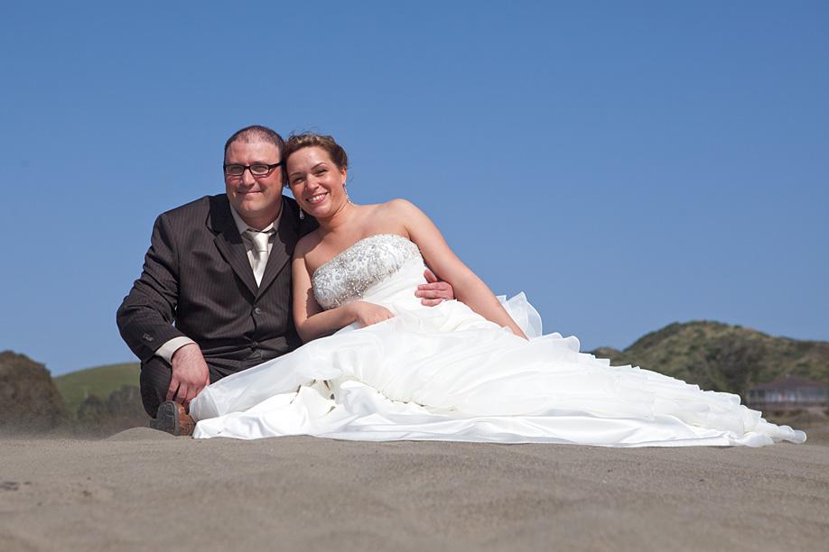 Quentin and Faith on Dillon Beach