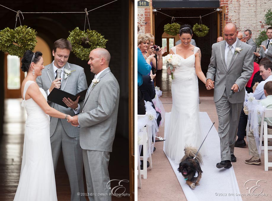 Recessional with Dog!