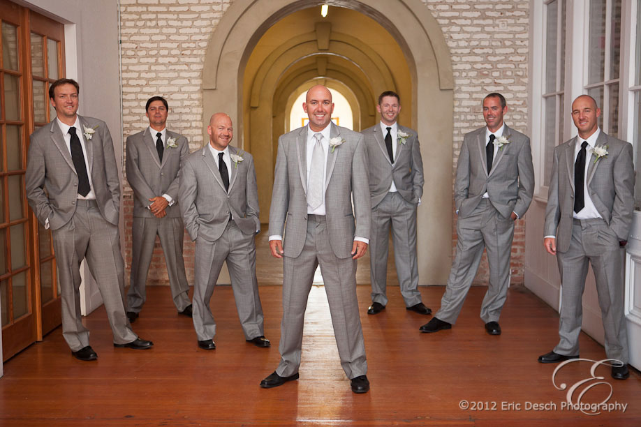 Scott and Groomsmen