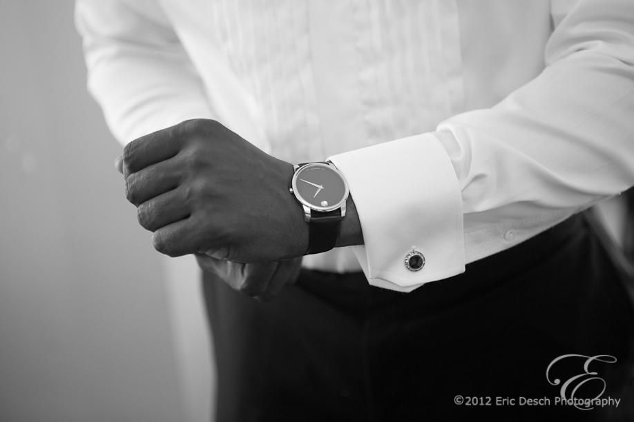 Cuff Links and Watch