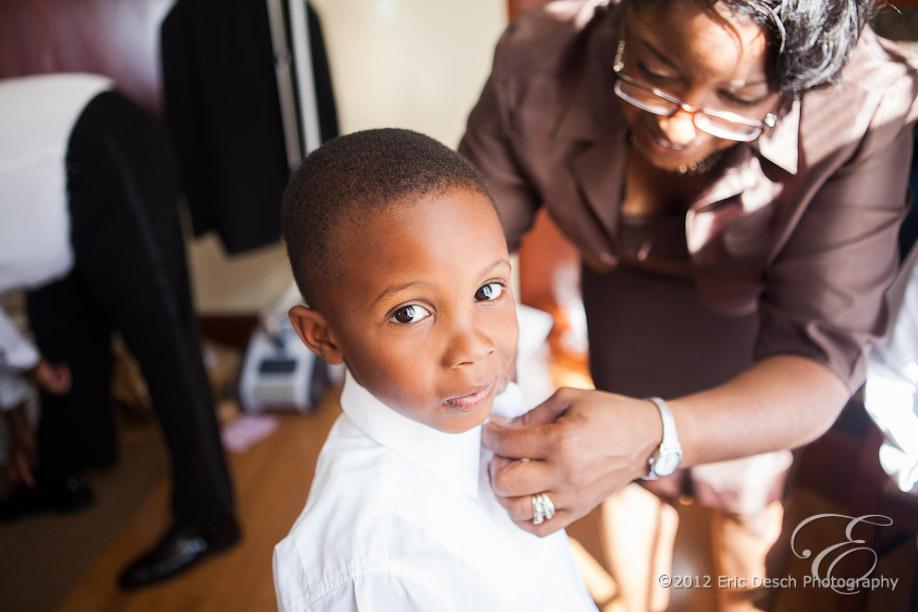 Children Getting Ready
