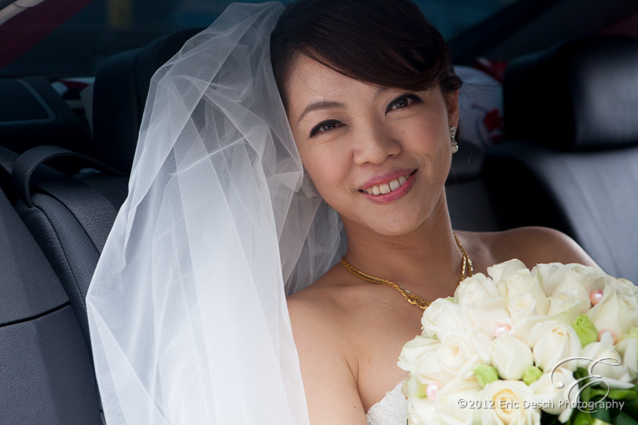 Bride Off to the Banquette
