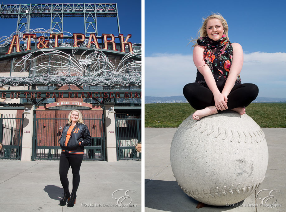 Outside AT&T Park